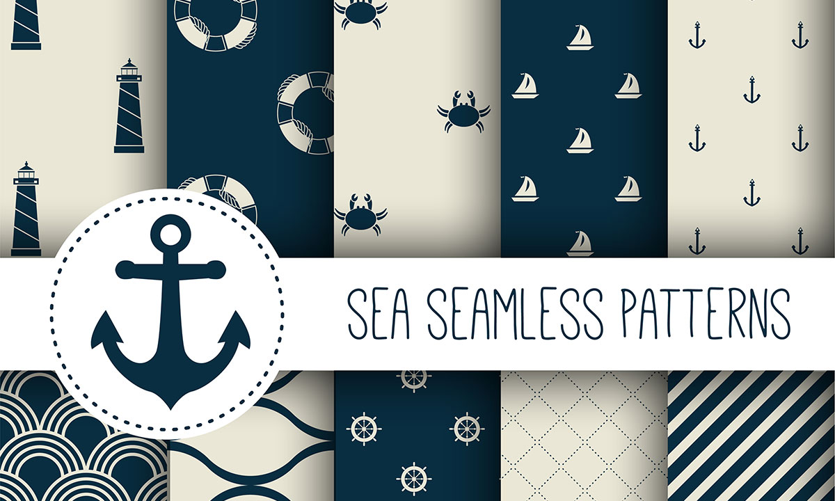 sea-seamless-patterns