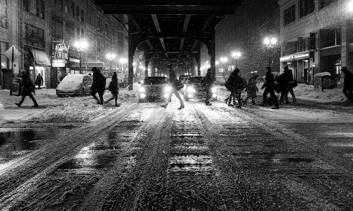 冬の街並み